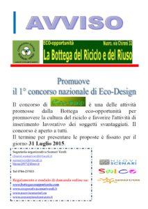 Bando del Concorso di EcoDesign